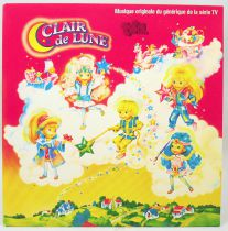 Clair de Lune - Disque 45Tours - Musique originale de la série TV CBS Records 1987