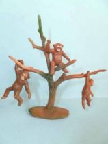 Clairet - Adventures & Zoo - Tree with 3 Apes