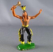 Clairet - Far West - Indiens 3ème série - Piéton dansant tomahawk