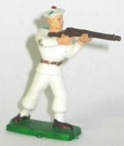 Clairet - sailors - trooper standing firing rifle