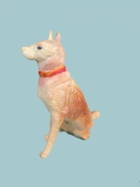 Clairet - the farm - Dog seated