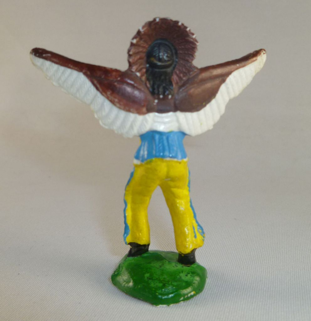 Clairet - Wild West - Indian 1st series - Footed Sorcer (yellow pants)