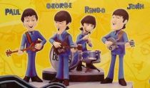 Classic Beatles Toon - McFarlane Toys - set of 4  figures