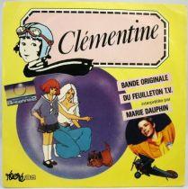 Clémentine - Disque 45Tours - Bande Originale Série Tv - Disques Polydor 1985