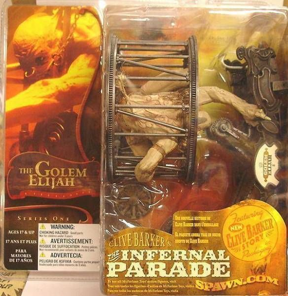 Clive Barker\'s Infernal Parade - The Golem Elijah