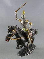Cofalu - 54m - Middle-Age - Mounted brandishing sword black horse