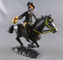 Cofalu - 54m - Western - Cow-Boy - Mounted masked black rider (Zorro) with bank bag