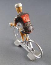 Cofalu - Cycliste plastique - Equipe Caisse d\'Epargne