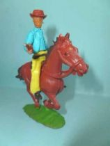 Cofalu plastic 65mm - Western - Cow-boy Mounted firing gun