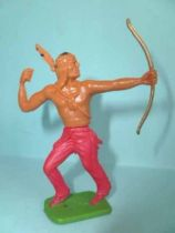 Cofalu plastic 65mm - Western - Indian Footed Archer red pants