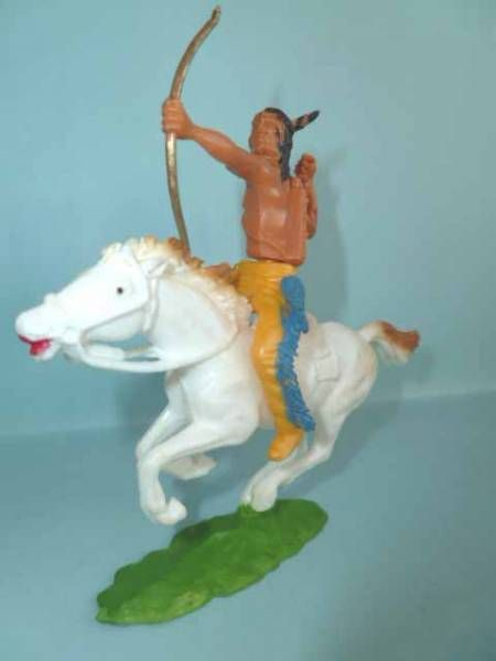 Cofalu plastic 65mm - Western - Indian Mounted archer