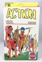 Combat! (A-Toys) - ECSI - Soldats 1:72ème - Guerriers Africains