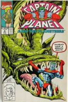 Comic Book - Marvel Comics - Captain Planet and the Planeteers #2