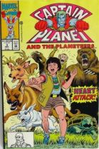 Comic Book - Marvel Comics - Captain Planet and the Planeteers #3