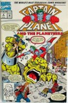 Comic Book - Marvel Comics - Captain Planet and the Planeteers #4