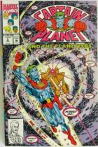Comic Book - Marvel Comics - Captain Planet and the Planeteers #5