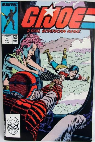 Comic Book - Marvel Comics - G.I.JOE #071