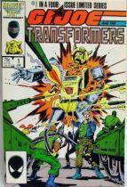 Comic Book - Marvel Comics - G.I.JOE and the Transformers #1