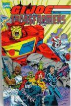 Comic Book - Marvel Comics - G.I.JOE and the Transformers Trade Paperback
