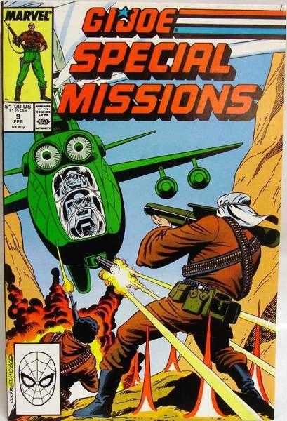 Comic Book - Marvel Comics - G.I.JOE Special Missions #09