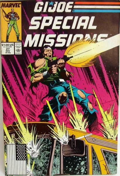 Comic Book - Marvel Comics - G.I.JOE Special Missions #27