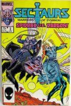 Comic Book - Marvel Comics - Sectaurs #2