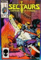 Comic Book - Marvel Comics - Sectaurs #5