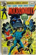 Comic Book - Marvel Comics - The Micronauts #1