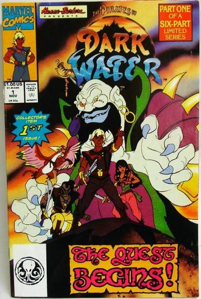 Comic Book - Marvel Comics - The Pirates of Dark Water #1