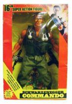 Commando John Matrix (Arnold) Mint in box 16\'\' figure
