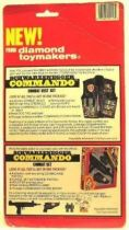 Commando John Matrix (Arnold) Mint on card action figure