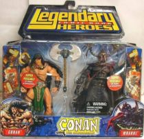 Conan the Barbarian - Conan & Wrarrl the Devourer of Souls