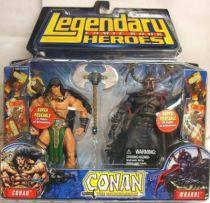 Conan the Barbarian - Conan & Wrarrl the Devourer of Souls