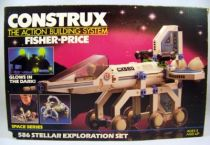 Construx (Space Series) - Fisher-Price 1984 - #586 Stellar Exploration Set