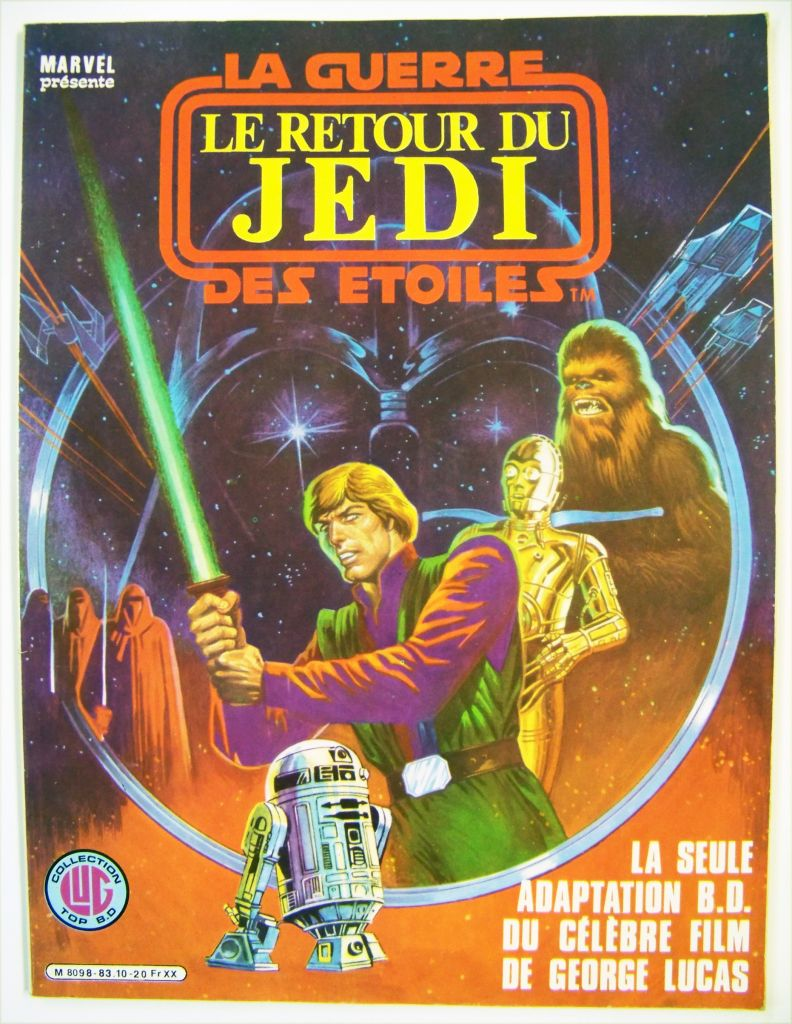 Collection Top B.D LUG - Le retour du Jedi - 1983 01
