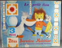(copie) Titus the little Lion - face-mask (by César) - Melchior (red hair)