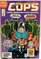 C.O.P.S. & Crooks - Comic Book - DC Comics - COPS #10