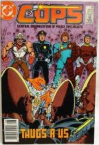 C.O.P.S. & Crooks - Comic Book - DC Comics - COPS #13