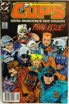 C.O.P.S. & Crooks - Comic Book - DC Comics - COPS #15