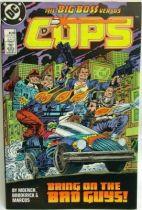 C.O.P.S. & Crooks - Comic Book - DC Comics - COPS #2