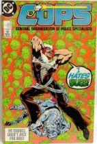 C.O.P.S. & Crooks - Comic Book - DC Comics - COPS #4