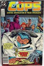 C.O.P.S. & Crooks - Comic Book - DC Comics - COPS #6