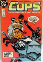 C.O.P.S. & Crooks - Comic Book - DC Comics - COPS #8