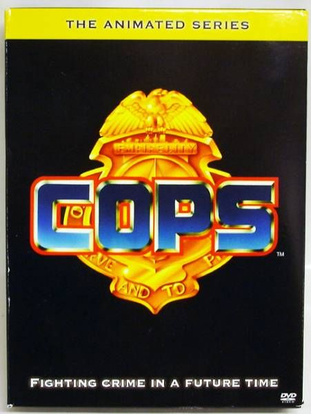 C.O.P.S. & Crooks - DVD - Shout Factory - COPS The Animated Series
