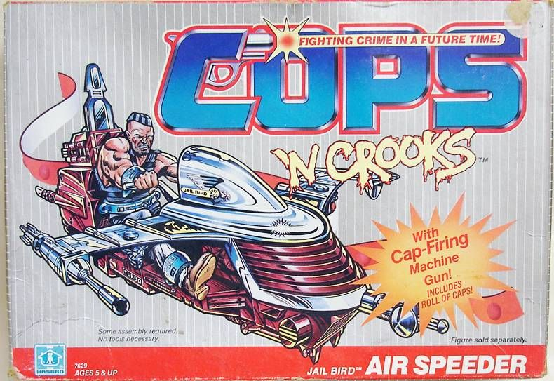 C.O.P.S. & Crooks - Jail Bird Air Speeder