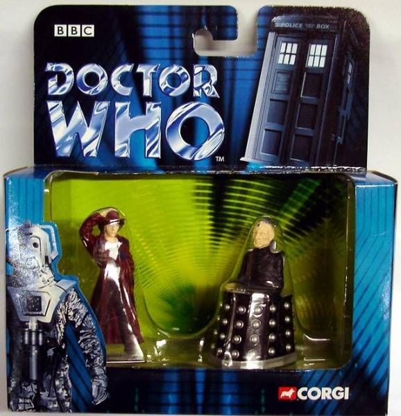 Corgi - Doctor Who figures set : Dr. Who & Davros