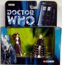 Corgi - Doctor Who figures set : Dr. Who & Davros
