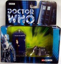 Corgi - Doctor Who figures set : Tardis & K-9