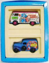 Corgi - Marvel Super Heroes Limited Editions - Captain America : V.W. Van & Ford Popular Van