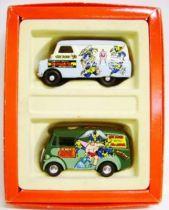 Corgi - Marvel Super Heroes Limited Editions - X-Men : Morris J Van & Bedford CA Van